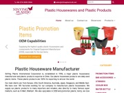Plastic Housewares and Plastic Products