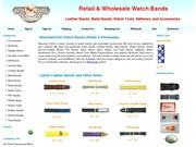 Stretch Watch Bands - Repair Tools - Batteries - Accessories