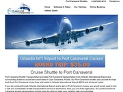 Port Canaveral Shuttle Transportation